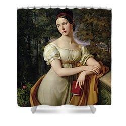 Agnes Rauch Shower Curtain by Wilhelm Schadow