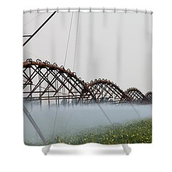 Agriculture - Irrigation 3 Shower Curtain