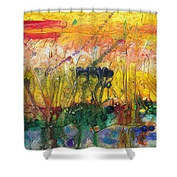 Agriculture Shower Curtain by Phil Strang