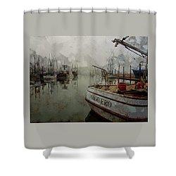 Aguero Shower Curtain