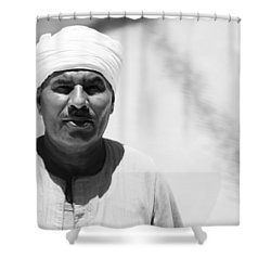 Ah It's You Shower Curtain by Jez C Self