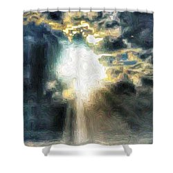 Ahhhh The Sun Shower Curtain