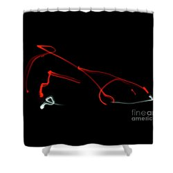 Aikido - Iriminage, Omote Shower Curtain