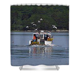 Air Assault Shower Curtain