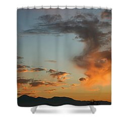 Shower Curtain featuring the photograph Air Ball Cough by Marie Neder