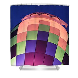 Air Balloon Shower Curtain