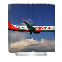 Air Berlin Boeing 737-800 Shower Curtain