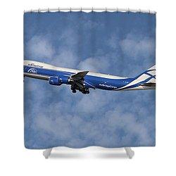 Air Bridge Cargo Airlines Boeing 747-83q Shower Curtain
