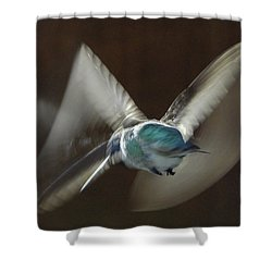 Air Dance Shower Curtain