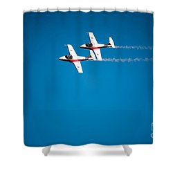 Air Demonstrations. Shower Curtain