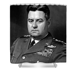 Air Force General Curtis Lemay  Shower Curtain by War Is Hell Store
