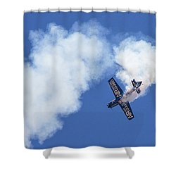 Air National Guard Ms-s Tumble 1 Shower Curtain