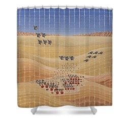 Air Power Shower Curtain