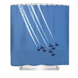 Air Show 1 Shower Curtain