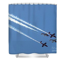 Air Show 6 Shower Curtain