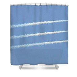 Air Show 9 Shower Curtain