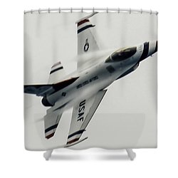 Air Speed Shower Curtain