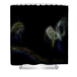 Air Spirits 6 Shower Curtain by William Horden