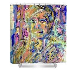 Airbrush 2 Shower Curtain