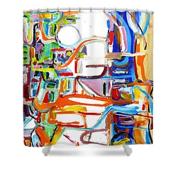 Airshaft Shower Curtain