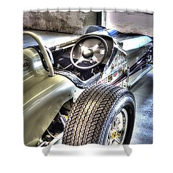 Aj Foyts Roadster Shower Curtain