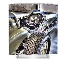 Aj Foyts Roadster Shower Curtain by Josh Williams