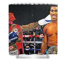 Aj Omo Oduduwa The World Champion Shower Curtain