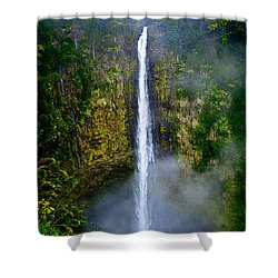 Akaka Falls Shower Curtain by Christopher Holmes