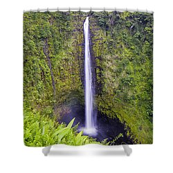 'akaka Falls Shower Curtain