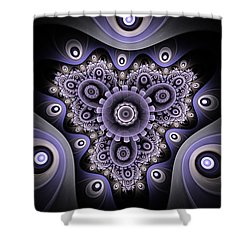 Akashic Shower Curtain