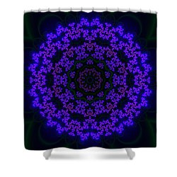 Akbal 10 Shower Curtain