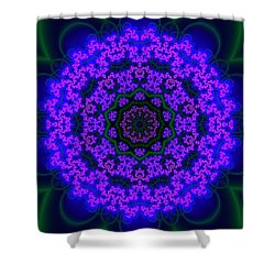 Shower Curtain featuring the digital art Akbal 9 .4 by Robert Thalmeier
