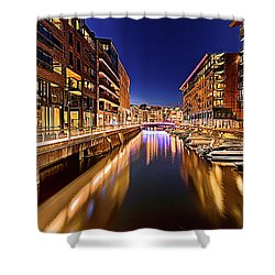 Aker Brygge Shower Curtain