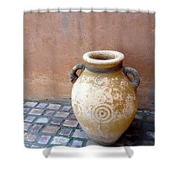 Al Ain Urn Shower Curtain