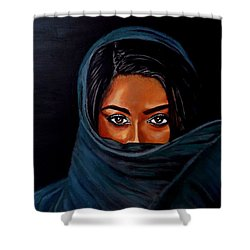 Al-andalus-1 Shower Curtain