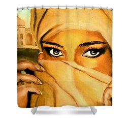 Al-andalus-3 Shower Curtain
