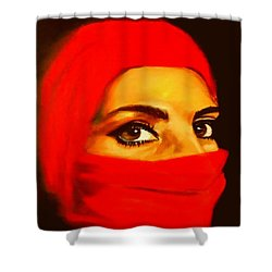 Al-andalus-4 Shower Curtain