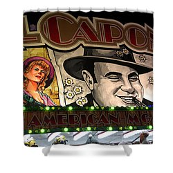 Al Capone On Funfair Shower Curtain