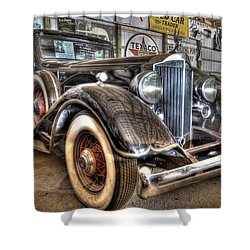 Al Capone's Packard Shower Curtain