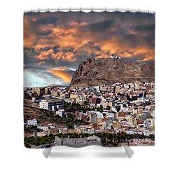 Al Hoceima - Morocco Shower Curtain by Anthony Dezenzio