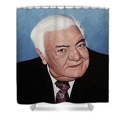 Elie Benyacar Aka Al Mucher Shower Curtain
