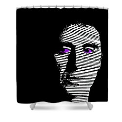 Al Pacino Shower Curtain by Emme Pons