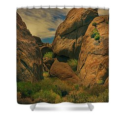 Alabama Hills - Eastern Sierras - Two Shower Curtain