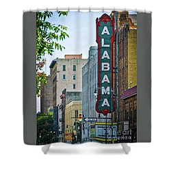 Alabama Theatre Shower Curtain