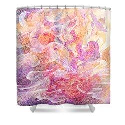 Aladdin's Lamp Shower Curtain by Rachel Christine Nowicki