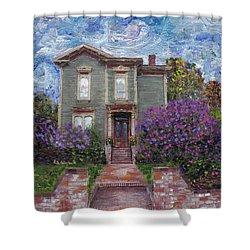 Alameda 1888 - Italianate Shower Curtain