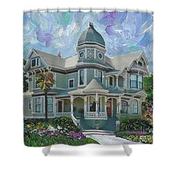 Alameda 1893  Queen Anne  Shower Curtain