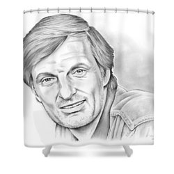 Alan Alda Shower Curtain