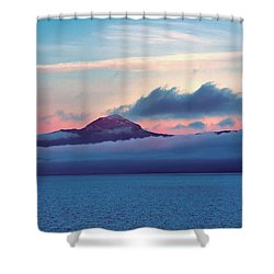 Alaska Dawn Shower Curtain