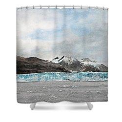 Alaska Ice Shower Curtain by Monte Toon